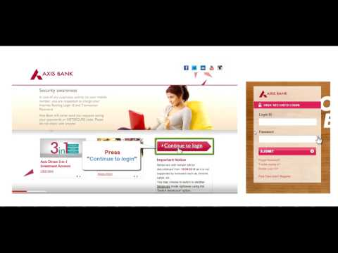 How to online transfer money axis bank account to sbi state bank of india bank account
