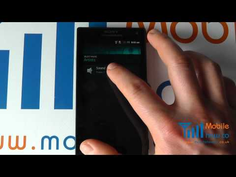 How To Change The Ringtone - Sony Xperia S