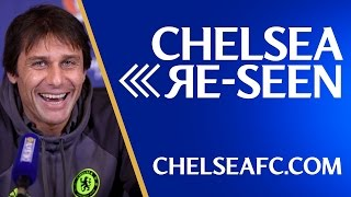 CHELSEA RE-SEEN: Diego Drogba, the players have fun in the snow and Conte has his cake and eats it