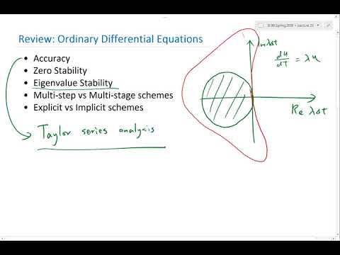 Review   Ordinary Differential Equations Part 1