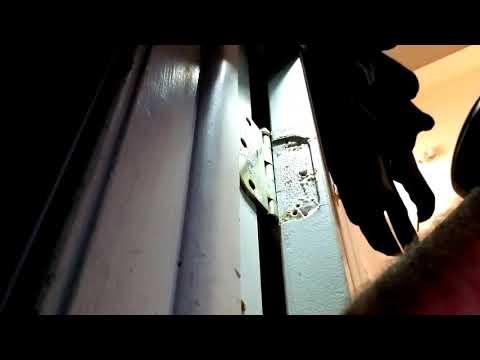 How to fix broken stripped screws for door hinges and lock sets. Door alignment
