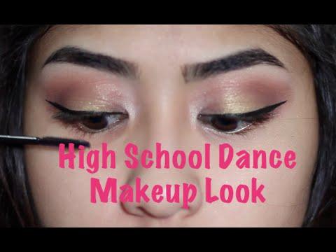 High School Dance Makeup Look!