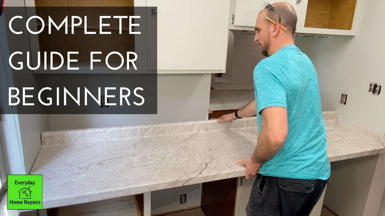 How To Install Laminate Countertops   Step By Step
