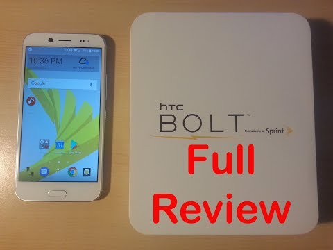 HTC Bolt Review -- High-end smartphone features for a low price!!! (Part 2)