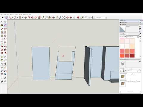 Scribing Cabinets Between Two Walls