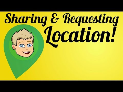 How to Request/Share Location on Snapchat