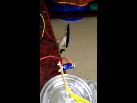 How to make automatic bubble machine Arduino