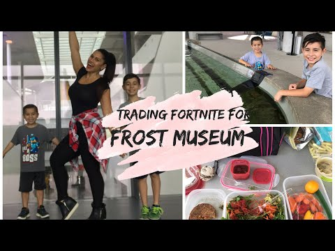 Trading Fortnite For A Fun Day At Frost Museum
