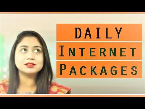Daily Internet Package of Zong, Telenor, Ufone, Jazz and Warid