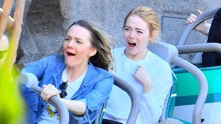 Emma Stone Enjoys a Fun-Filled Day at Disneyland -- See the Pics!