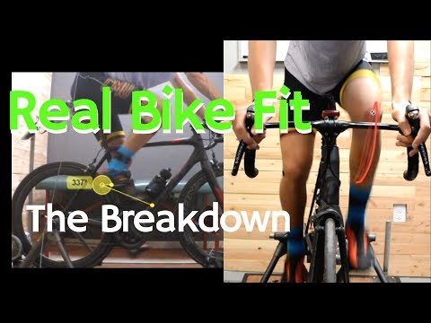 (Another) Real Bike Fit - digging in and breaking down the details