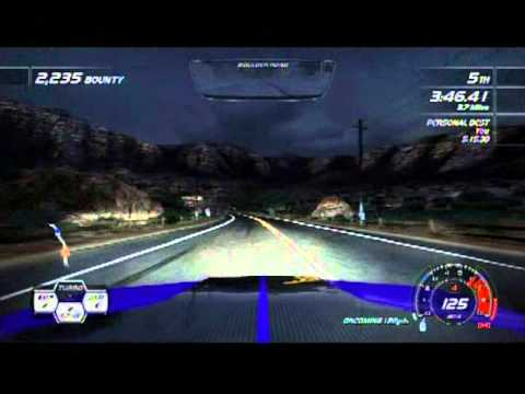 Need For Speed Hot Pursuit Dodge Challenger SRT8 PLUM CRAZY Race Chase