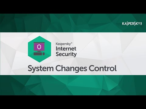 How to use Kaspersky Internet Security to control changes to your operating system