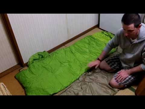 The right way to pack a sleeping bag or not it's up to you!!