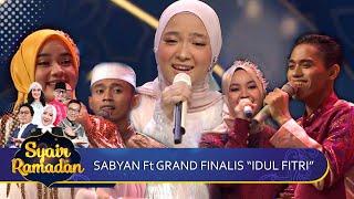 Idul Fitri - Sabyan Ft 4 Grand Finalis   Syair Ramadan GTV