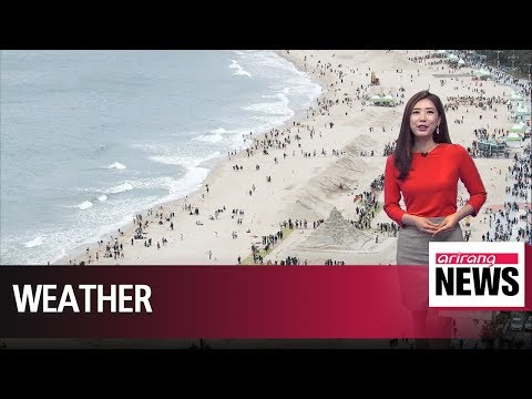 Beach weather to continue over the weekend _ 060118