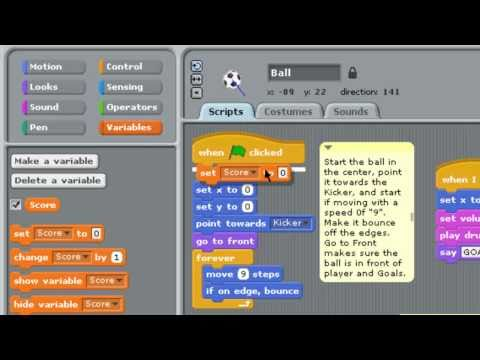 Scratch Soccer Game - Part 3