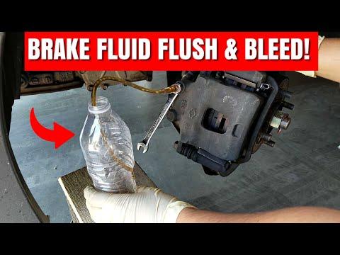 How To Do A Complete Brake Fluid Flush And Properly Bleed Your Brake System   G20 Brake Fluid Flush!