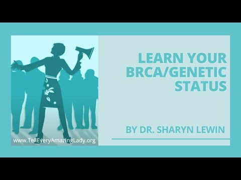 Learn Your BRCA or Genetic Status With Dr. Sharyn Lewin and T.E.A.L.®