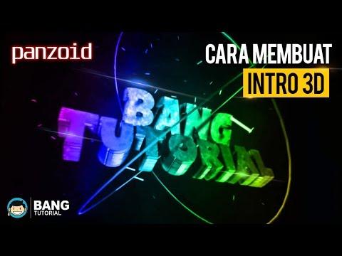 Cara Membuat Intro 3D Panzoid (How to make 3D intro) | PANZOID TUTORIAL  #1