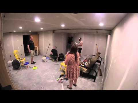 New Mancave Room Timelapse
