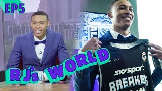 """""""Go Get That CHECK!"""" RJ Hampton Breaks Down Why He's Going OVERSEAS! Explains NOT GOING To College!"""