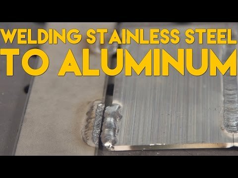 🔥 Welding Stainless Steel to Aluminum Welding | TIG Time