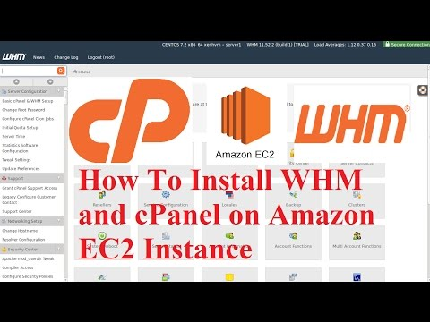 How to Install WHM or cPanel and AWS EC2 Instance
