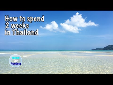 How to spend two weeks in Thailand - Travel VLOG