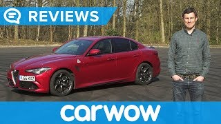 Alfa Romeo Giulia Quadrifoglio 2018 Review   Mat Watson Reviews