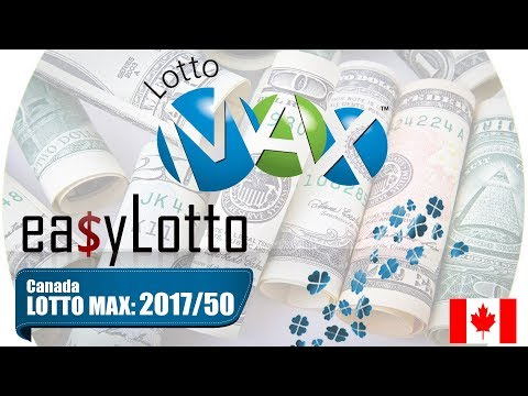Lotto Max numbers 15 Dec 2017