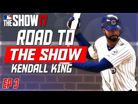 NEW EQUIPMENT & FIRST HOMER AS A CUB! | MLB THE SHOW 17 RTTS | Road to the Show EP3