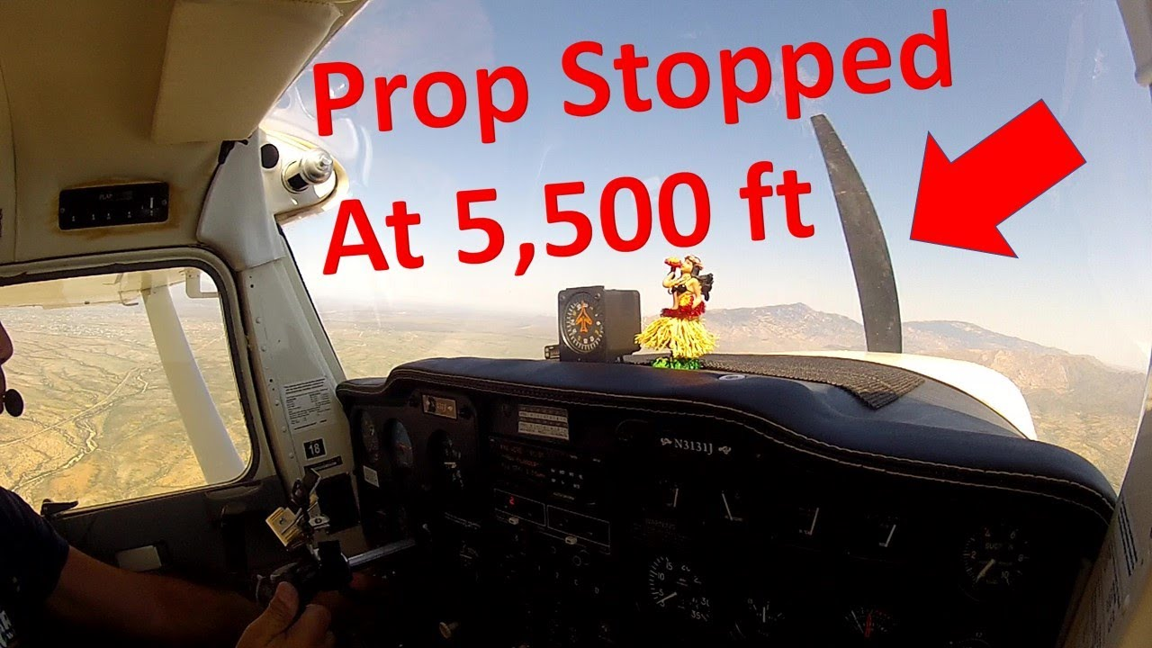 Engine Out, Deadstick Landing in a Cessna 150