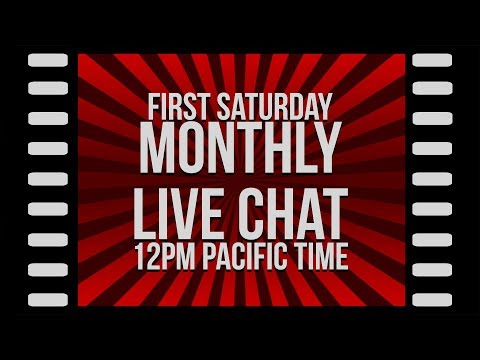 Monthly Live Stream (April 2018)