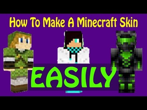 How To Make A Minecraft Skin EASILY