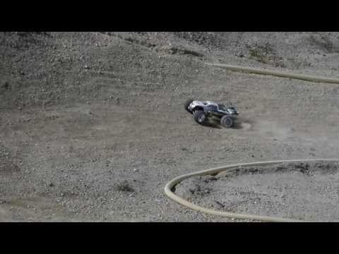 Homemade RC dirt track