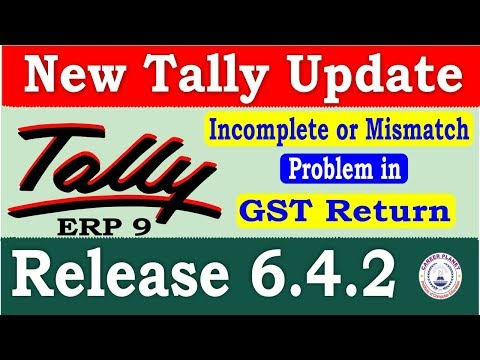 Tally ERP 9 Release 6.4.2 Tally Update   Download Latest Tally Version