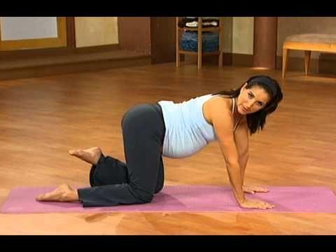 10 minute prenatal pilates part 4
