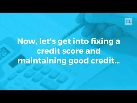 How to Repair My Credit & Improve My FICO Scores