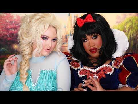 DISNEY PRINCESS GET READY WITH ME with NIKKIETUTORIALS | PatrickStarrr