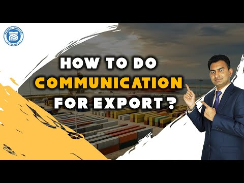 How to do Communication for Export | How to Find Buyers For Export by Paresh Solanki