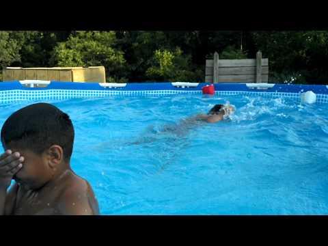 The boys pool