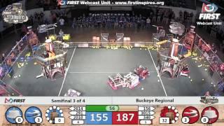 Semifinal 3 - 2017 Buckeye Regional