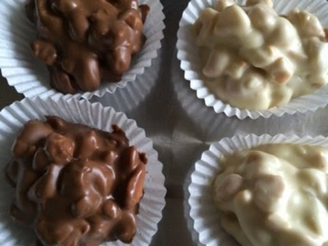 Chocolate Peanut Clusters - Episode 132 - Baking with Eda