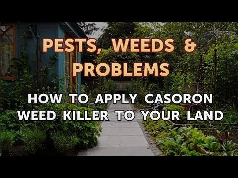 How to Apply Casoron Weed Killer to Your Land