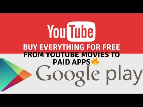 Download Google Play Paid Games, Apps, E-Books and YouTube Movies for Free 🔥