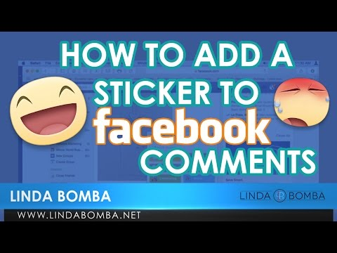 How To Add A Sticker To Facebook Comments