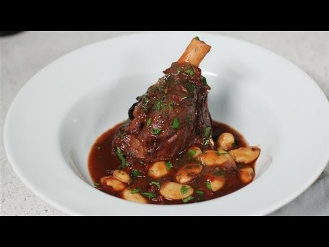 How To Make Lamb Shanks With Red Wine And Butter Beans: Winter Warmers