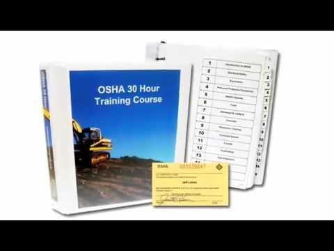 OSHA 30 Hour for Construction