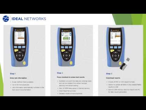 Ideal Signaltek CT Data Cable Transmission Tester from Netshop